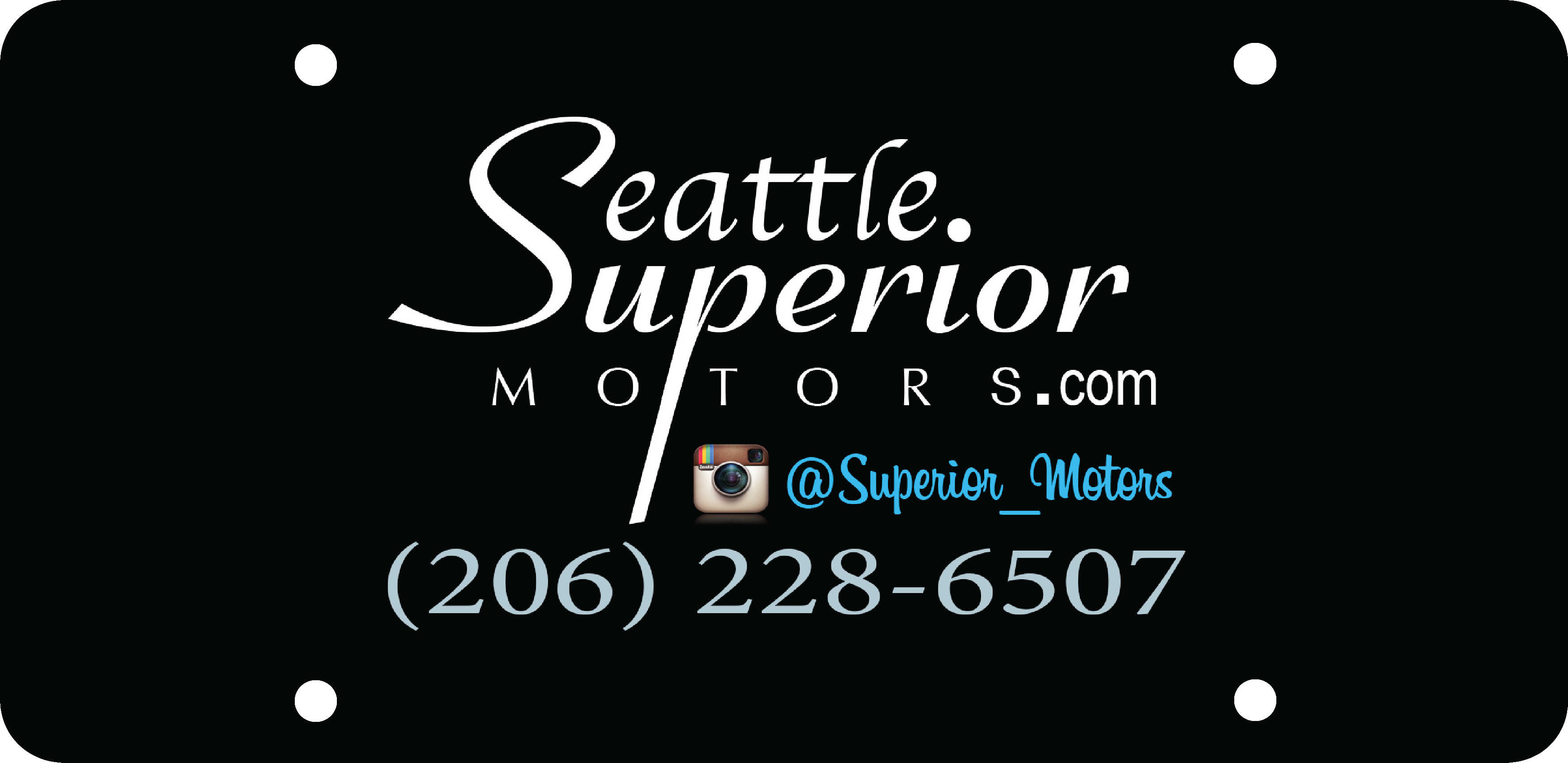 Seattle Superior Motors Digital Insert