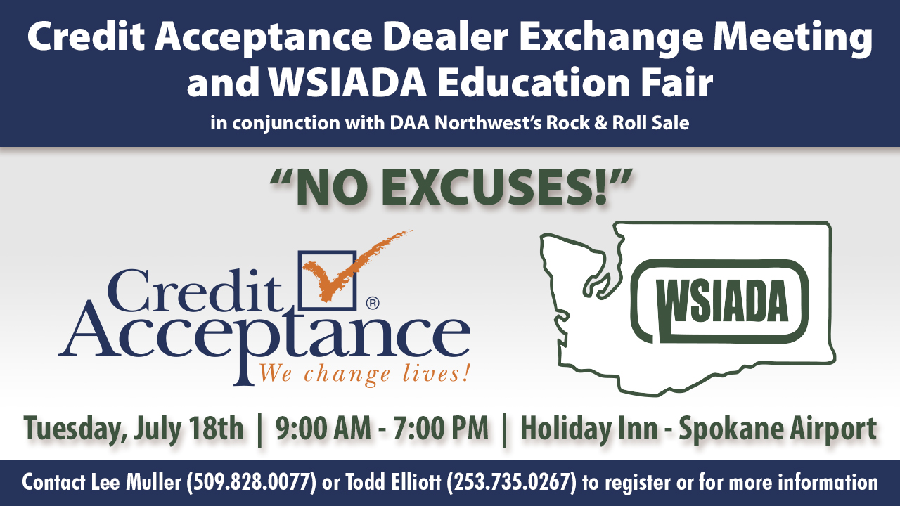 Credit Acceptance and WSIADA