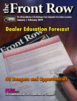 January/February 2019 - Dealer Education Forecast