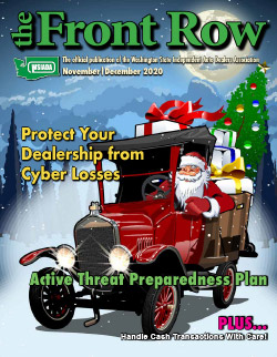 November/December 2020 - Protect your dealership from Cyber Losses